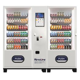 饮料食品双柜自动售货机