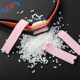 东莞TPE厂家直供TPE表带料TPE手环料手感细腻TPE