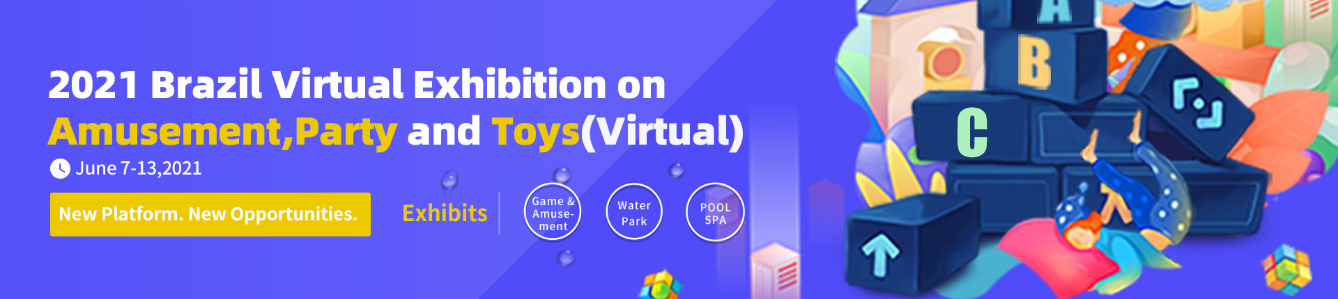 2021 Brazil Virtual Exhibition on Amusement,  Party and Toys