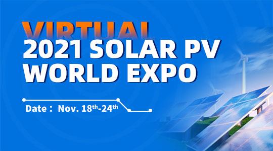 2021 Solar PV World Expo (Virtual)