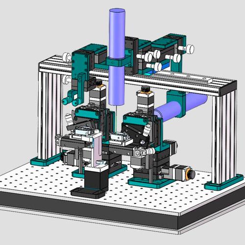光促PLC自动对光耦合机